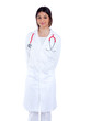 asian indian confidence woman doctor smiling