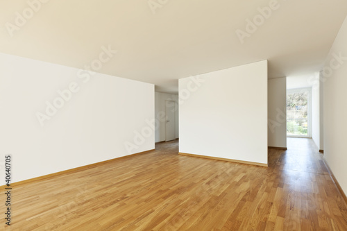 beautiful new apartment, interior, empty room