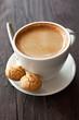 Kaffee und Amarettini
