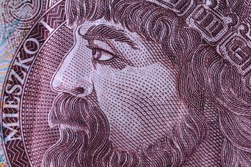 Mieszko I dziesięć złotych