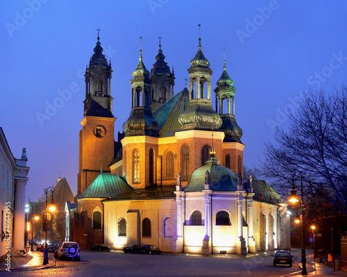Ostrów Tumski w Poznaniu © craftsoft