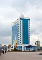 Odessa hotel in a seaport, Ukraine