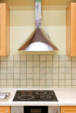 Modern kitchen hood.