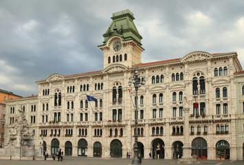 Municipality. Trieste, Italy.