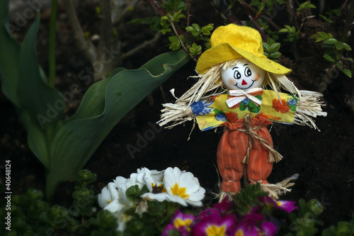 Friendly little scarecrow