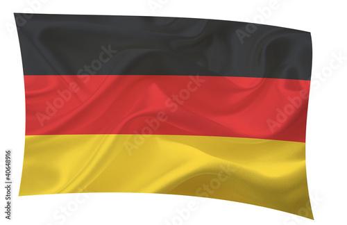 Waving flag - Deutschland