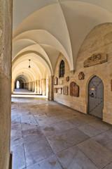 Hallway of the chruch of the minorites (Minoritenkirche), Vienna