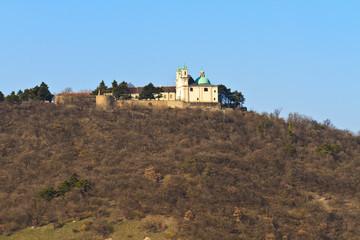 Vienna - Church on Leopoldsberg Mountain, Austria