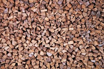 Piled firewood_Brennholz_Pappel_3