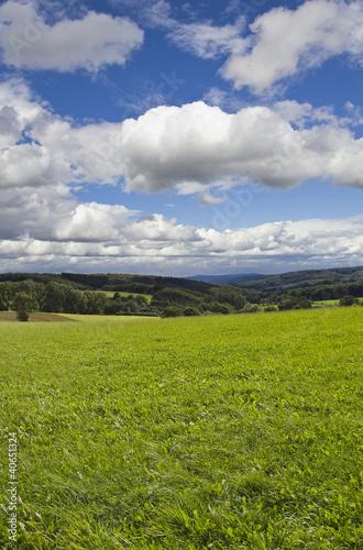 German Landscape Background
