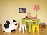 Fototapety Children nursery room