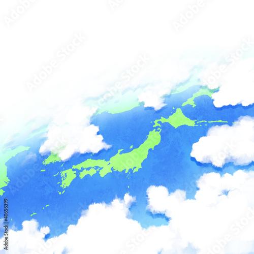日本列島 東アジア