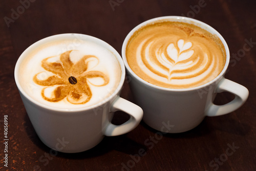 Fototapeten,latte art,tassen,tassen,kaffeetasse