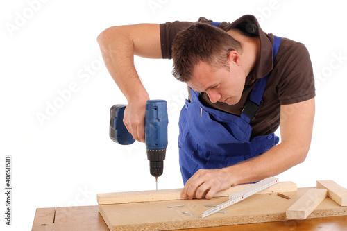 Handwerker beim Arbeiten