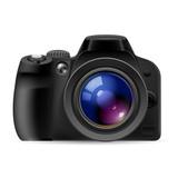Fototapety Realistic digital camera