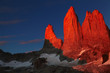 Fototapeten,sunrise,chile,patagonia,andes