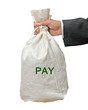 Bag with pay