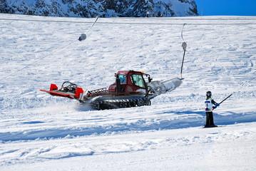 Gatto delle nevi, Vorarlberg, Austria