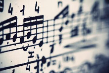 Note musicali, macro