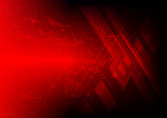 red symbol background