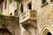 Leinwanddruck Bild - Balkon von Romeo und Julia