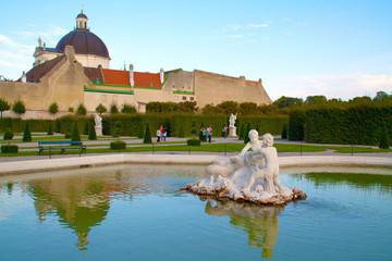 Giardino pubblico a Vienna