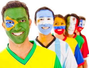 Brazil leading a team