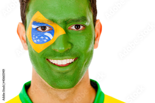 Brazilian man portrait