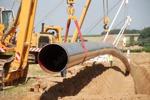 Pose d'un pipeline - 40667197