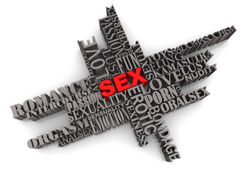 SEX Abstract Design