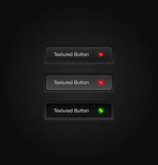 Textured vector web buttons