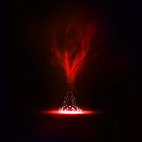 Fototapeta ogień - mistyczne - Kształty
