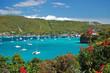 Leinwanddruck Bild - View of Admiralty Bay on Bequia Island