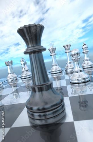 dame schach