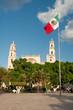 Main Square of Merida (Mexico)