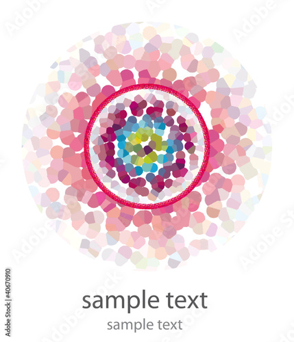greeting card - logo - mantra - karma - hypnose - kaleidoskop