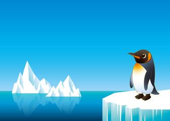 氷山ペンギンよこ