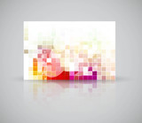 new beautiful gift card vector design