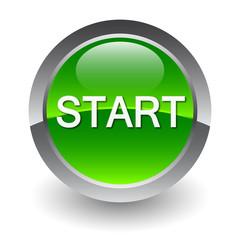 start green button