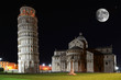 Leaning Tower on the Piazza dei Miracoli in Pisa, Italy