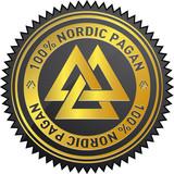 100% Nordic Pagan poster