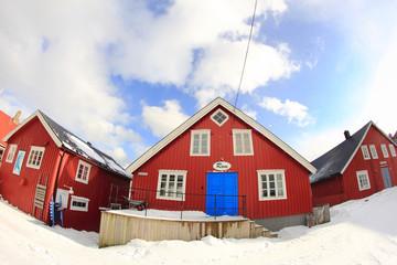 Red houses of Lofoten