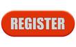 Button orange Seiten rund Register