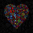 Musical heart5