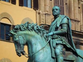 Statua di Cosimo I, Piazza della Signoria, Firenze