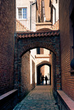 Church Path - Arched passage in Elblag