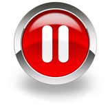 red pause icon
