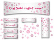 Pinkish Floral Sale Background