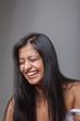 Sympathisches Lachen