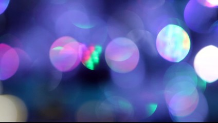 Background disco, super bokeh